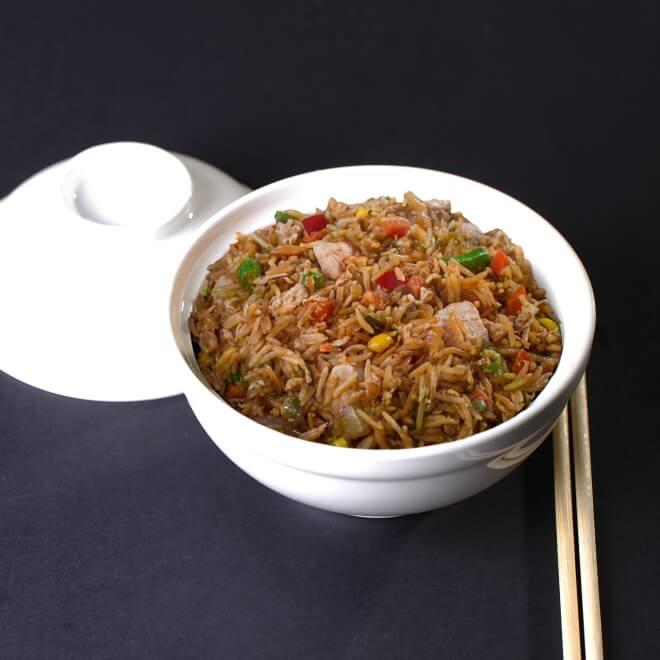 Рис тепаньяки с курицей