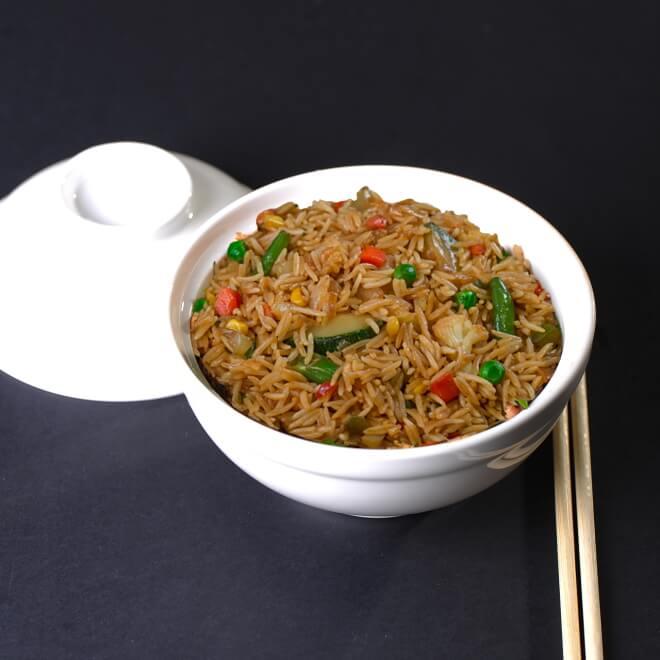 Рис тепаньяки с овощами